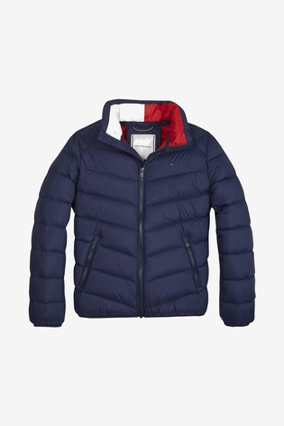 sports shoes d0271 37907 Tommy Hilfiger Kids Lightweight Down Jacket