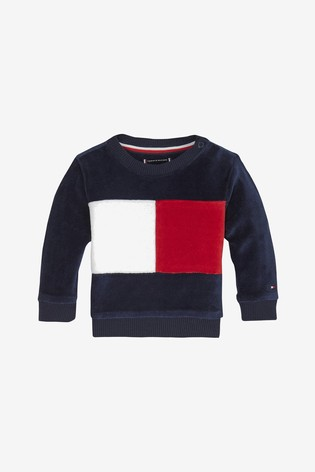 reputable site 8142d 5dc40 Tommy Hilfiger Baby Colourblock Sweatshirt