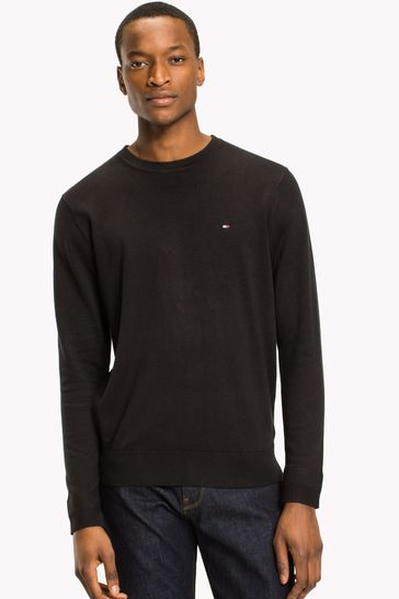 Nye Buy Tommy Hilfiger Core Cotton Silk Crew Neck Sweater from the AI-16