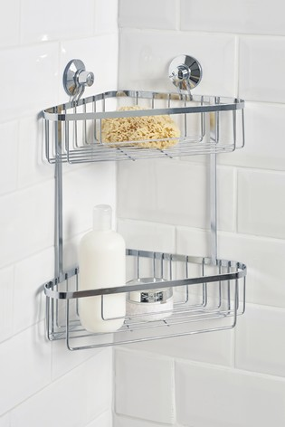 Buy Two Tier Wire Shower Caddy from the Next UK online shop
