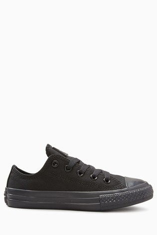 c4bf037ec2c7 Buy Converse Youth Chuck Taylor Black All Star Ox Lo from the Next ...