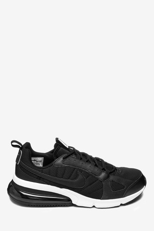 new products 34a3b b6da8 Nike Black/White Air Max 270 Futura Trainers