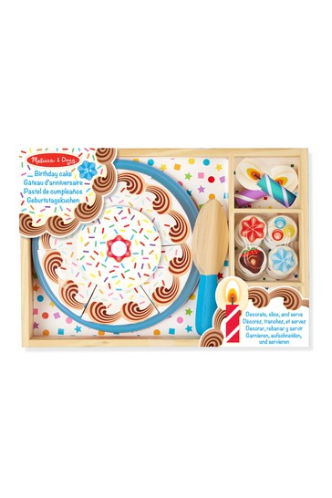 Prime Buy Melissa Doug Wooden Birthday Cake From The Next Uk Online Shop Funny Birthday Cards Online Alyptdamsfinfo