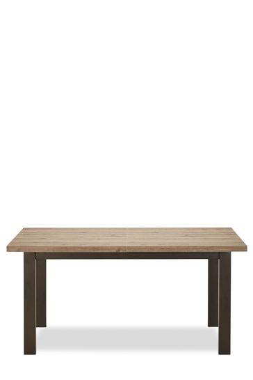 Cool Bronx 6 8 Seater Extending Dining Table Inzonedesignstudio Interior Chair Design Inzonedesignstudiocom
