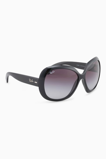 11646ae746 Buy Ray-Ban® Black Jackie Ohh II Oversized Sunglasses from the Next ...