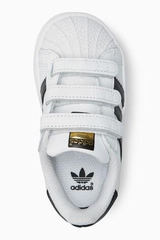 658a92c3179e Buy adidas Originals Superstar Velcro Youth from Next Lithuania