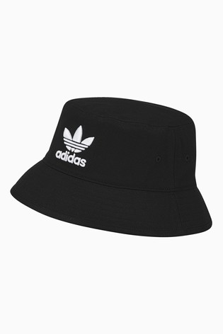 Buy adidas Originals Black Bucket Hat from the Next UK online shop 5c837aad686