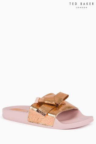 ac6fcfdee Buy Ted Baker Rose Gold Melvah Slider from Next Ireland