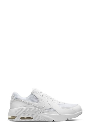 Temblar Moderar mediodía  Buy Nike White Air Max Excee Youth Trainers from the Next UK online shop