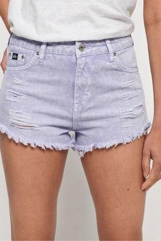 jean shorts cut