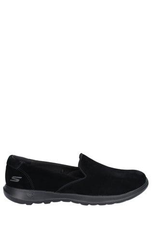 Skechers® Black Gowalk Lite Glam Shoes