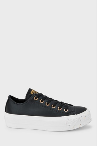 A gran escala Botánico Oscuro  Buy Converse Chuck Taylor All Star Speckle Lift Trainers from the ...