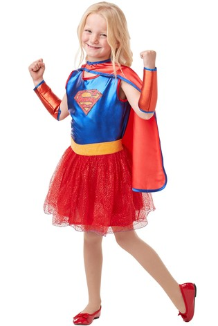 Rubies Blue Supergirl Fancy Dress Costume ...  sc 1 st  Next & Buy Rubies Blue Supergirl Fancy Dress Costume from the Next UK ...