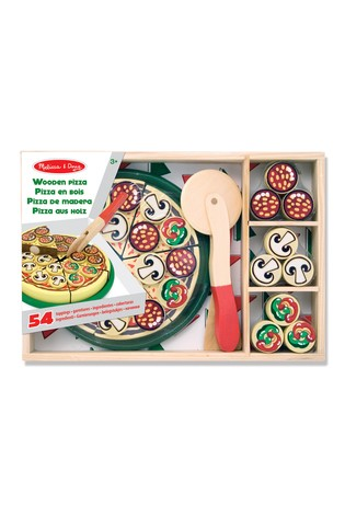 Melissa Doug Wooden Pizza