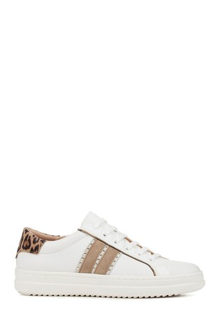 quite nice newest huge selection of Geox Women's Pontoise White Shoe