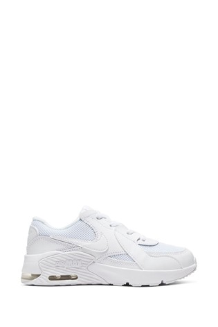 Pedicab beneficio hogar  Buy Nike White Air Max Excee Junior Trainers from the Next UK online shop