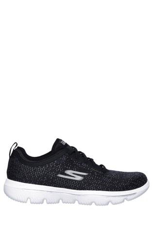 Islas Faroe gusto medio  Buy Skechers® Black Go Walk Evolution Ultra - Mirable Trainers from the  Next UK online shop