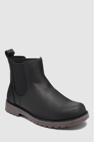 acb93ead8da UGG® Kids Black Callum Chelsea Boot