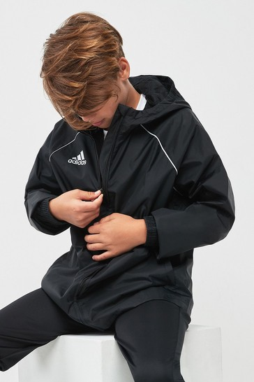 71c6e990db5 Buy adidas Core18 Rain Jacket from the Next UK online shop
