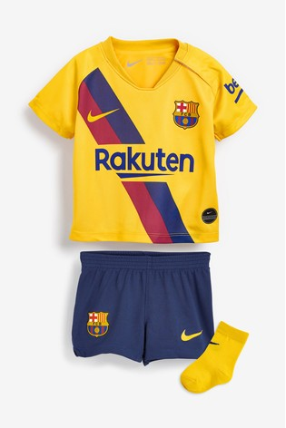 new product 2269c c4b50 Nike Barcelona 2019/2020 Infant Kit