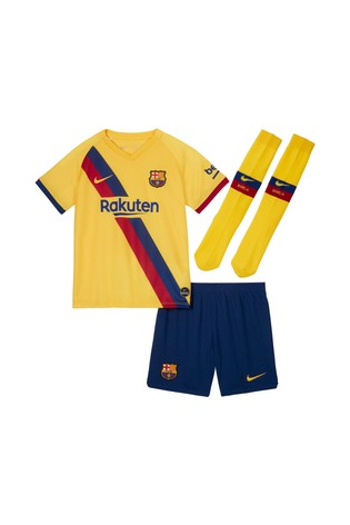 reputable site 3aa32 adeae Nike FC Barcelona 2019/2020 Little Kids Kit