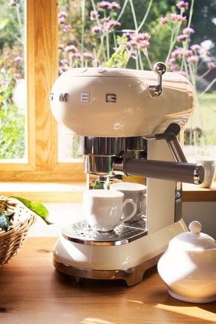 Smeg Cream Espresso Coffee Machine