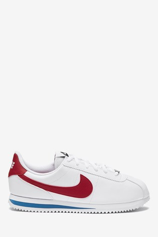 Buy Nike White/Red/Blue Cortez Youth