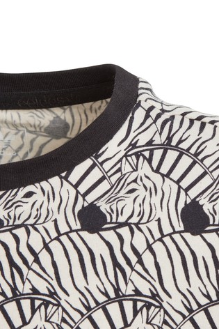 buy adidas originals zebra print crop tee from next japan