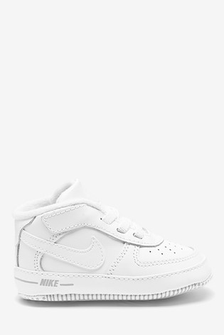 Nike Mens Trainers Air Force 1 White | Landau Store