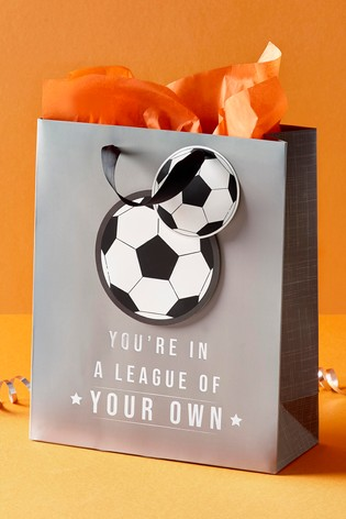 Football Birthday Gift Bag