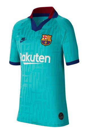 new arrival 517b2 3be2c Nike Green Barcelona Youth 2019/20 3rd Jersey
