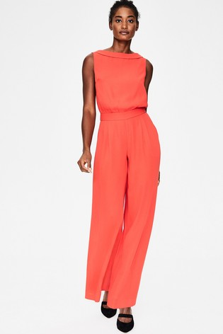 Buy Boden Orange Clarissa Jumpsuit From The Next Uk Online Shop