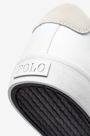 Canvas Ralph Sayer Trainers Polo Lauren® White lK1FTJc