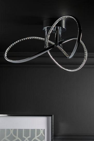 Buy Led Cara 3 Light Flush Pendant From The Next Uk Online Shop