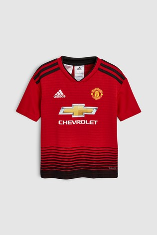 47f241d09 Buy adidas Manchester United FC 2018 19 Mini Kit from the Next UK ...