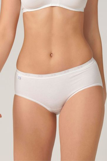 2a8ece54ca57 Buy Sloggi Basic+ Midi Briefs Three Pack from the Next UK online shop