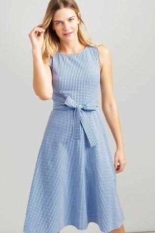 014f4e2331d Buy Joules Blue Fioa Sleeveless Woven Dress from the Next UK online shop