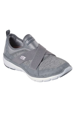 skechers slip on memory foam