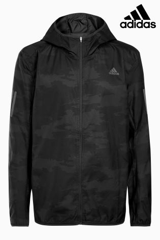 12651d14792 Buy adidas Run Carbon Response Graphic Hooded Wind Jacket from Next Ireland