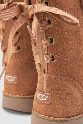 9fce1029619 UGG® Kids Chestnut Corene Lace Back Boot