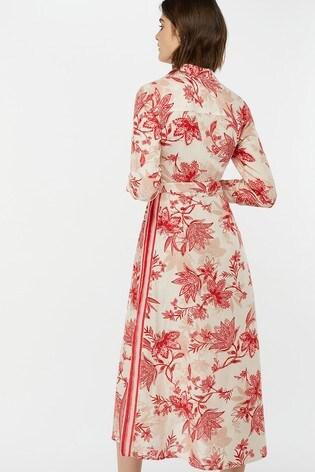 1d9205cfe Buy Monsoon Ladies Natural Alyssa Print Linen Shirt Dress from the ...