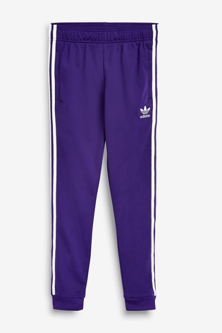 clearance prices 2018 sneakers retail prices adidas Originals Purple Superstar Joggers