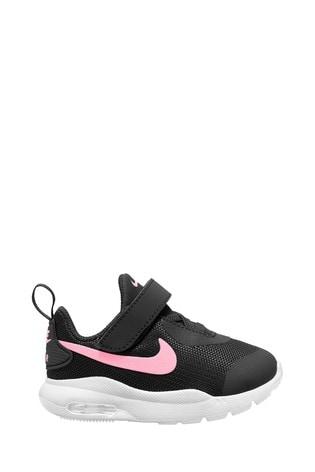 Nike Black/Pink Oketo Infant Trainers