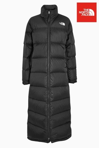 nouvelle collection cdb35 2fd07 The North Face® Black Nuptse Duster Coat