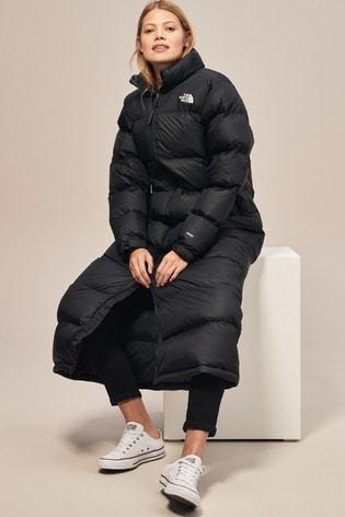 2449806a28951 Buy The North Face® Black Nuptse Duster Coat from Next Slovakia