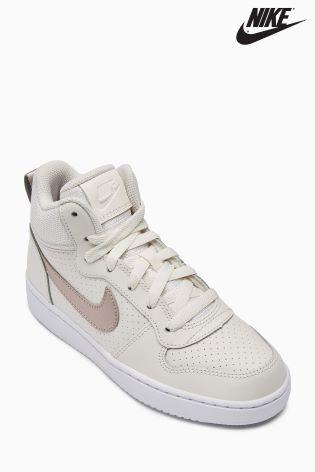 separation shoes 8e79c 6f84d Nike Cream Court Borough Mid ...
