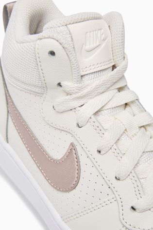 official photos f932b 66f75 Buy Nike Cream Court Borough Mid from Next Ireland