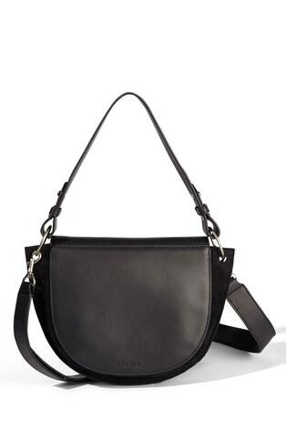 0431c33255e Jigsaw Keller Leather Shoulder Bag