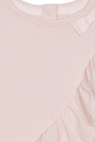 aab05fcdbc1 Buy baker by Ted Baker Baby Girls Frill Detail Mockable Romper from Next  Pakistan