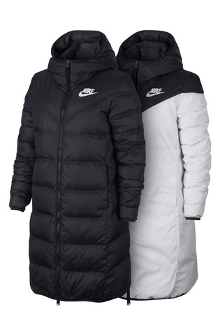 c1ddac30a920 Buy Nike Black Reversible Down Fill Parka from Next Ireland